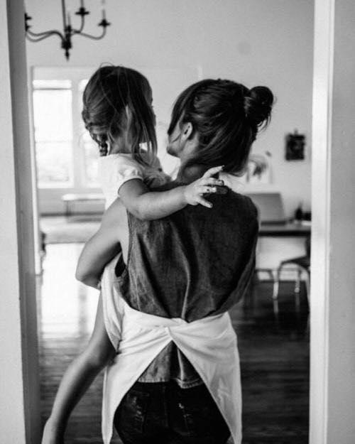 Предлагайте больше близости, чем просит от вас ребенок.