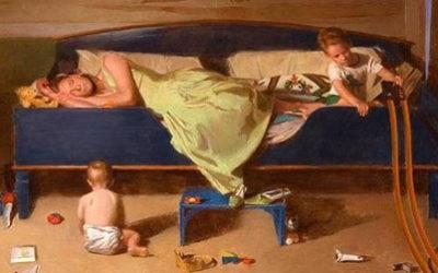 Совет психолога: Самое важное правило для уставшей мамы