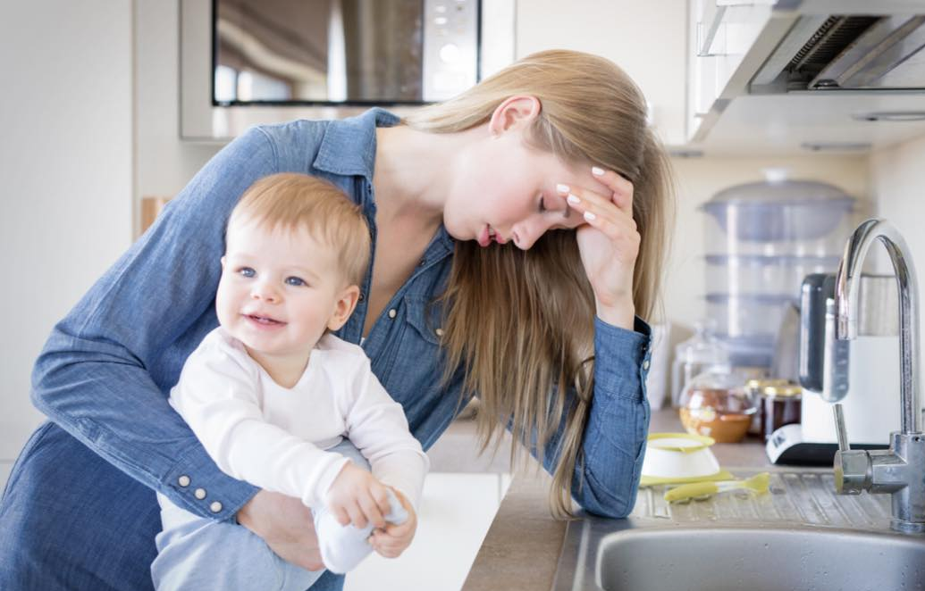 Точки опоры, чтобы жить, а не выживать в материнстве