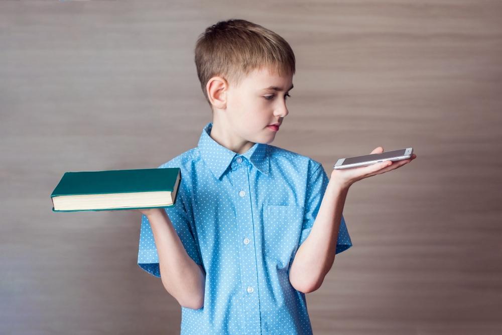 Тест-иллюзия «Как вы видите своего ребенка на примере гаджета и книги»